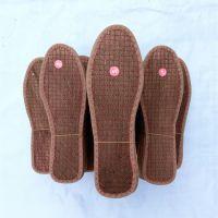 江湖地摊畅销棕鞋垫批发 10元3双模式天然棕丝鞋垫