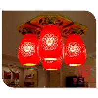 餐厅装饰吸顶灯 高端陶瓷灯具