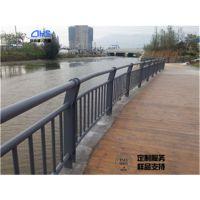 不锈钢碳素钢河道护栏Q235隔离栏杆厂家