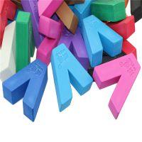 胜月批发 EVA门卡字母 EVA切割小方块塞子 彩色可丝印LOGO