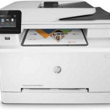 供应惠普M281FDN A4彩色激光打印复印扫描传真一体机
