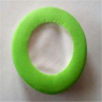 蛋白皮热压花纹皮耳套 高周波压多边形 印花纹皮耳罩厂家直销