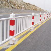 市政交通隔离防护栏 市政道路护栏 pvc塑钢道路护栏