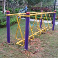 博罗县批发全民健身器材安装价 室外健身路径呼拉桥组合 款式多多