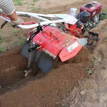 山东小型农业机械微耕机 园林果树施肥挖沟机 多功能大棚除草机