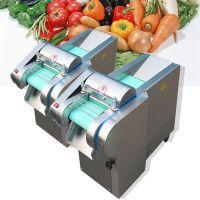 院校食堂专用切菜机 青岛不锈钢切菜机 启航电动多功能蔬菜切丝机