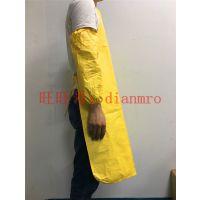杜邦 Tychem C级 黄色防化围裙 防油防酸碱围裙袖套加肥加大