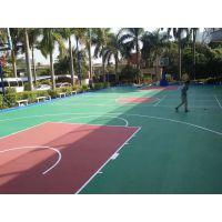 硅PU球场地坪工程 材料生产