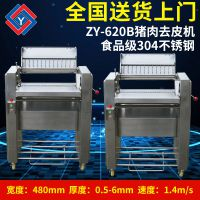 全自动两用猪肉去皮机 不锈钢商用去皮机量大优惠 厂家生产ZY-620B