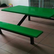 定制4人、6人、8人员工学校食堂餐桌椅 欢迎来厂参观