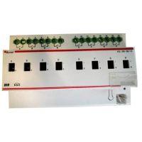 安科瑞ASL100-S4/16智能照明开关驱动器导轨安装手动操作开关