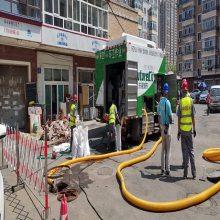 深圳市九九八科技有限公司研发生产了新型环保化粪池清掏设备