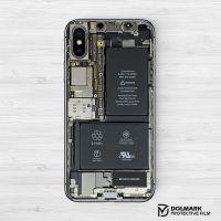 iphoneX手机保护膜贴纸创意伪装拆机后背膜苹果X贴膜定制磨砂彩膜