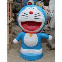 玻璃钢动漫雕塑 大雄机器猫 哆啦A梦 叮当猫卡通雕塑