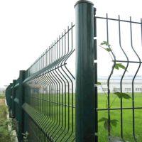 安平三角折弯护栏网 三折弯铁丝围栏网 市政围墙双边折弯防护网