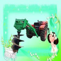 果园种树打坑机 启航园林绿化植树打洞机 大棚快速埋桩打坑机
