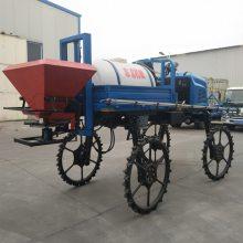 厂家热销自走式大型撒肥喷药机500L大容量喷雾器玉米棉花杀虫机