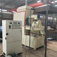 生物质木屑颗粒机 木屑燃料颗粒设备 金驼560卧式稻壳制粒生产线