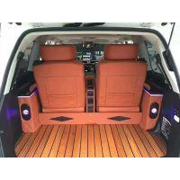 雷克萨斯570内饰改装航空座椅,柚木地板等
