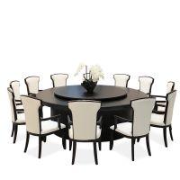 酒店板式电动桌大圆桌饭店中式现代电动餐桌20人大圆桌