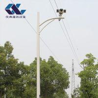 3米监控立杆2.5米3.5米4米枪击球机支架小区不锈钢摄像机监控杆