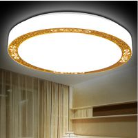 现代简约吸顶灯 led圆形吸顶灯亚克力阳台卧室灯厨房灯 客厅灯具