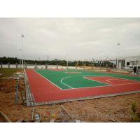 长沙旧球场翻新 望城工厂篮球场地面工程 环保漆施工厂家