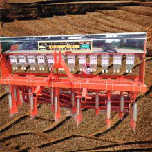 大同拖拉机牵引娃娃菜播种机 启航六行油菜精播机 萝卜播种机厂家