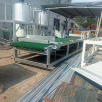 价格便宜岩棉砂浆复合板生产设备多少钱水泥砂浆岩棉复合板设备 大城县美工16型