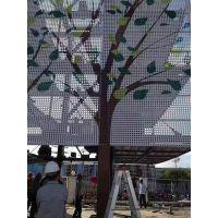 供应上海艺术镂空雕花铝单板门头德普龙厂家直销