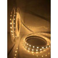 YQ5050-60灯暖白透明套管灯条 高质量LED软灯带 防水高亮低压软灯带