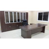 合肥大班桌老板桌+板式木制书柜整体尺寸价格