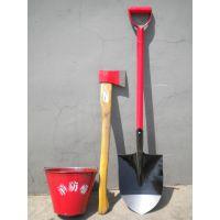 南京消防桶 铲 锤 扳手 消防斧
