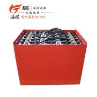 电动叉车蓄电池 电动车电瓶 林德E16C叉车蓄电池 5PZS575-48V