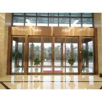 蓬江电动玻璃感应门,平移电动门销售