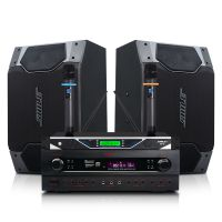 多功能厅音响系统、家庭卡拉OK音箱设备 会议室扩声音响套装