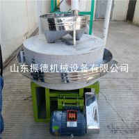 振德牌 ZD-60型石磨面粉机 多功能面粉石磨机 高粱荞麦面粉机 价格