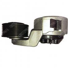 现代R290挖掘机发动机风扇皮带涨紧轮18027299616