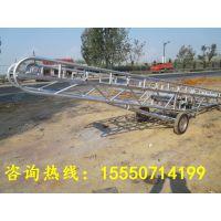 沙场/煤场专用爬坡式输送机 优质输送机批发采购润华供应