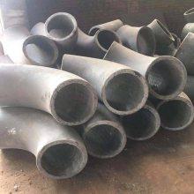 输送介质石灰45°耐磨弯头耐腐蚀生产厂家