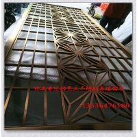拉丝不锈钢屏风雕花生产厂家 304不锈钢酒店镂空隔断屏风