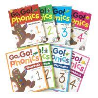 乐洋图书原版进口自然拼读Go Go Phonics新东方少儿英语使用教材