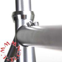 定制钛合金配件,钛合金管,银灰色, 尺寸26