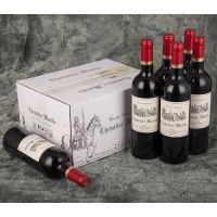 法国原瓶原装进口红酒马瑟骑士