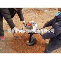 润众专业生产种树挖坑机 手提式挖坑机 车载式钻坑机