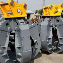 厂家直销旋转式抓木器 挖掘机抓石器工作效率高稳定性强易操作