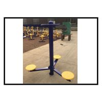 优质钢材厂家直销/社区公园室外健身器材 户外路径 三位扭腰器扭腰训练器