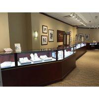 沈阳展柜制作珠宝柜台化妆品柜台货架展示柜服装柜台