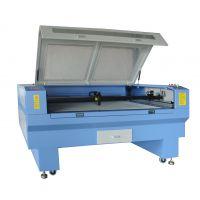 供应青岛平邑100W1810co2和光纤亚克力皮革激光切割机雕刻机尺寸功率可选