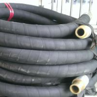 现货供应黑色耐磨夹布胶管 耐酸碱输水夹布胶管 输水胶管